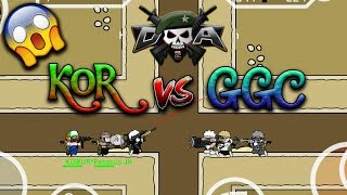 Mini Militia Clan War KOR VS GGC !! INTENSE GAMEPLAY !! | Doodle Army 2: Mini Militia #47