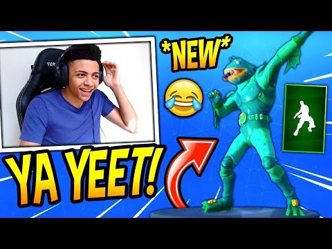 MYTH REACTS TO *NEW* YEET! (DIP) EMOTE/DANCE! Fortnite SAVAGE & FUNNY Moments