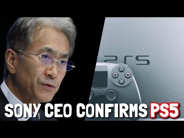 *SONY CEO* CONFIRMS PLAYSTATION 5 ! (PS5) (Playstation 5 release date 2019?) - Kenichiro Yoshida