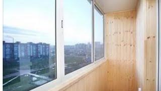 видео Чем застеклить балкон: остекление балкона варианты