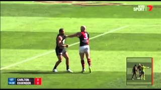 Chris Yarran sent to the tribunal charged with striking Paul Chapman