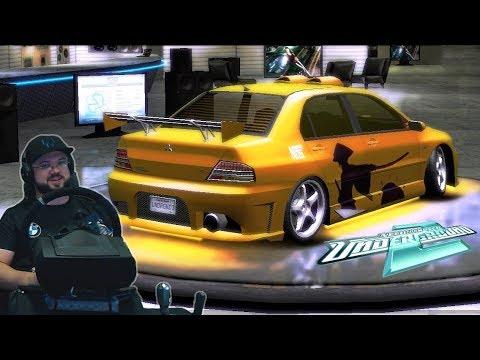 Настоящая ПУШКА! Тюнинг Mitsubishi Lancer Evolution VIII | NFS: Underground 2
