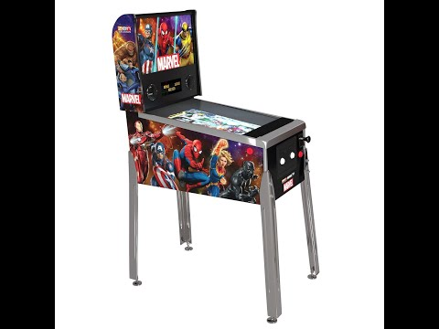 True Dirt on Arcade1Up Marvel Pinball from an Everyday Joe from RC iN Da HoOd