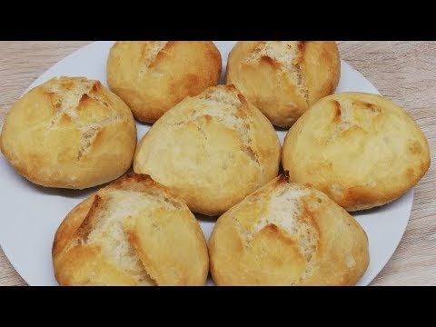 petits-pains-croustillant-et-moelleux-trÈs-facile-(cuisine-rapide)