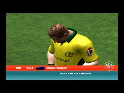 India vs Australia: Ea Sports Cricket 2007 Knockout Cup Semifinal  Part 1