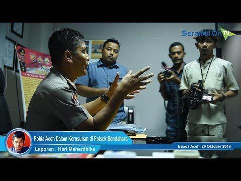 Terkait Mapolsek Bendahara, Polda Aceh Siapkan Langkah Hukum