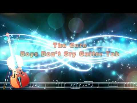 The Cure  Boys Don't Cry Guitar Tab