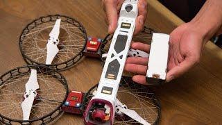 Headbutting the Snap drone from Vantage Robotics