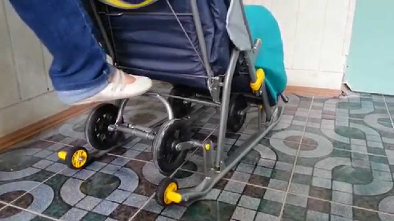Санки - коляска, ника,ям 7, отзывы покупателей