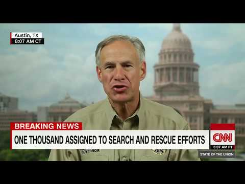 Texas governor on flood disaster (full interview)