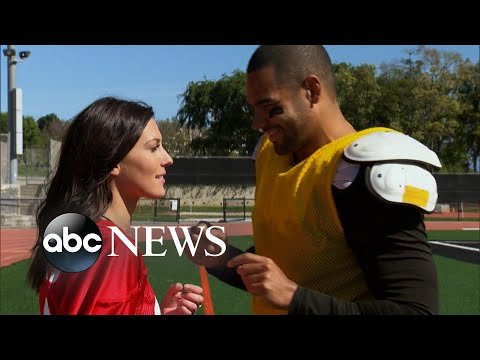 NFL player injured playing football on 'The Bachelorette'