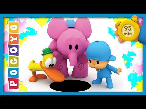 🃏 POCOYO AND NINA - Pocoyo In Wonderland [95 Min] | ANIMATED CARTOON For Children | FULL Episodes
