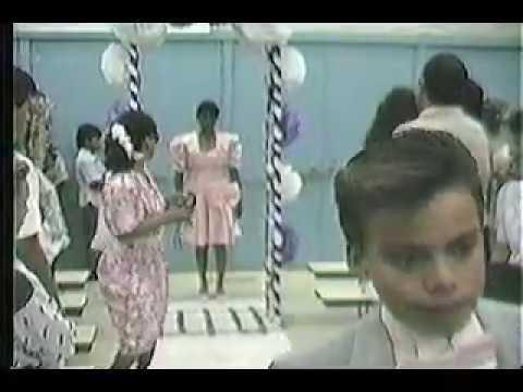 Mecca Elementary School 8th Grade Graduation 1990