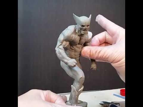 Sculpting a Wolverine