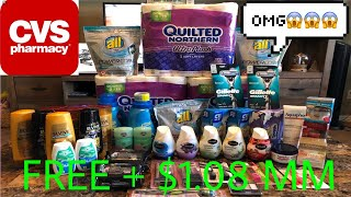 CVS COUPONING HAUL 1/7-1/13/18! FREE FREE FREE! Printable breakdown included!