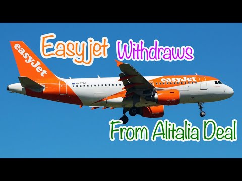 Easyjet Withdraws from Alitalia Deal