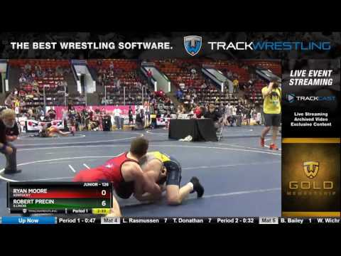 1264 Junior 126 Ryan Moore Kentucky vs Robert Precin Illinois 6333131104