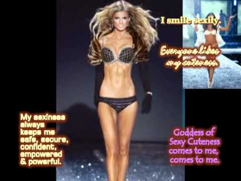 Law of Attraction: Victoria Secret Model, Walk Like One (subliminal messages)