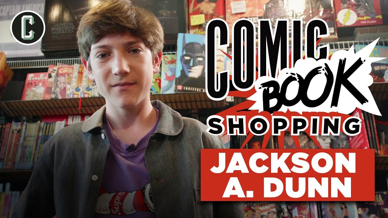 Brightburn's Jackson A. Dunn Goes Comic Book Shopping & Picks His Favorite Fan-Created Villain
