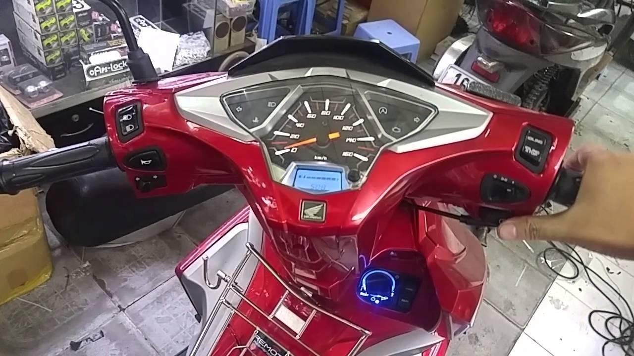 Khóa chống trộm chống cướp Honda SmartKey