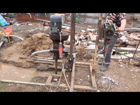 Скважина 125 трубой в селе Георгиевка