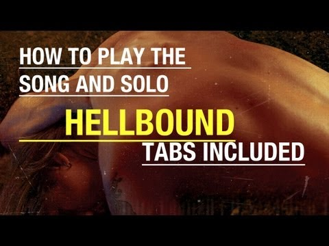 Jerry Cantrell - Hellbound | Guitar Cover + Solo Lesson (Tabs) mp3