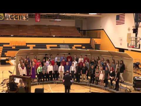Park River High School Christmas Concert Junior High Choir