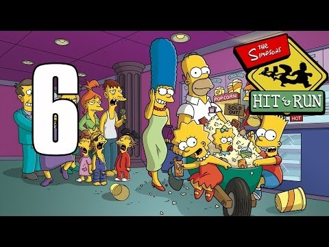 Los Simpson Hit and Run Parte 6 Nivel 6 (Misiones Bart Simpson) Gameplay Español PS2/PC HD