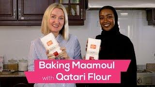 Baking Maamoul with Qatari flour