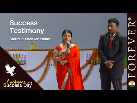 Business Testimony by Sartita & Shanker Yadav at Lucknow Success Day