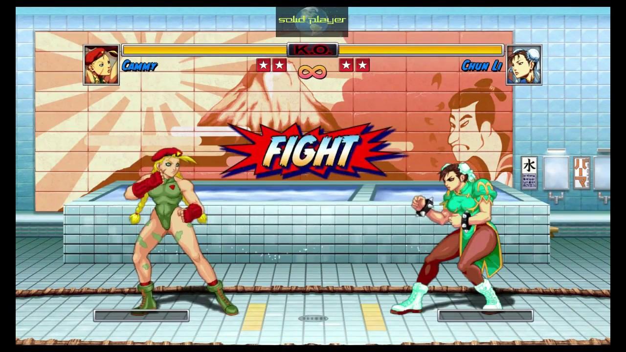Cammy Vs Chun Li Super Street Fighter Ii Turbo Hd Remix