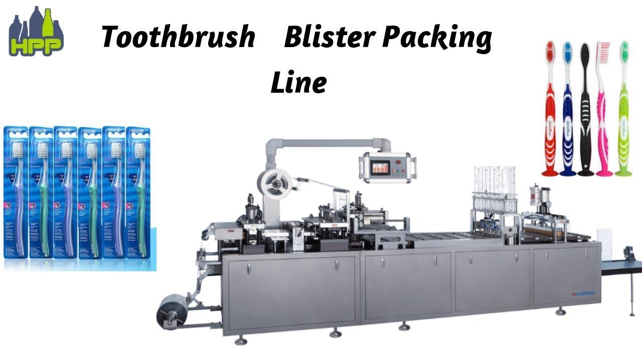 blister packaging diagram toothbrush blister packing machine youtube  toothbrush blister packing machine