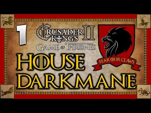 THE LION ROARS! Game of Thrones - Seven Kingdoms Mod - Crusader Kings 2 Multiplayer #1