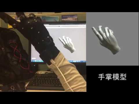 Data Glove by Sensfusion
