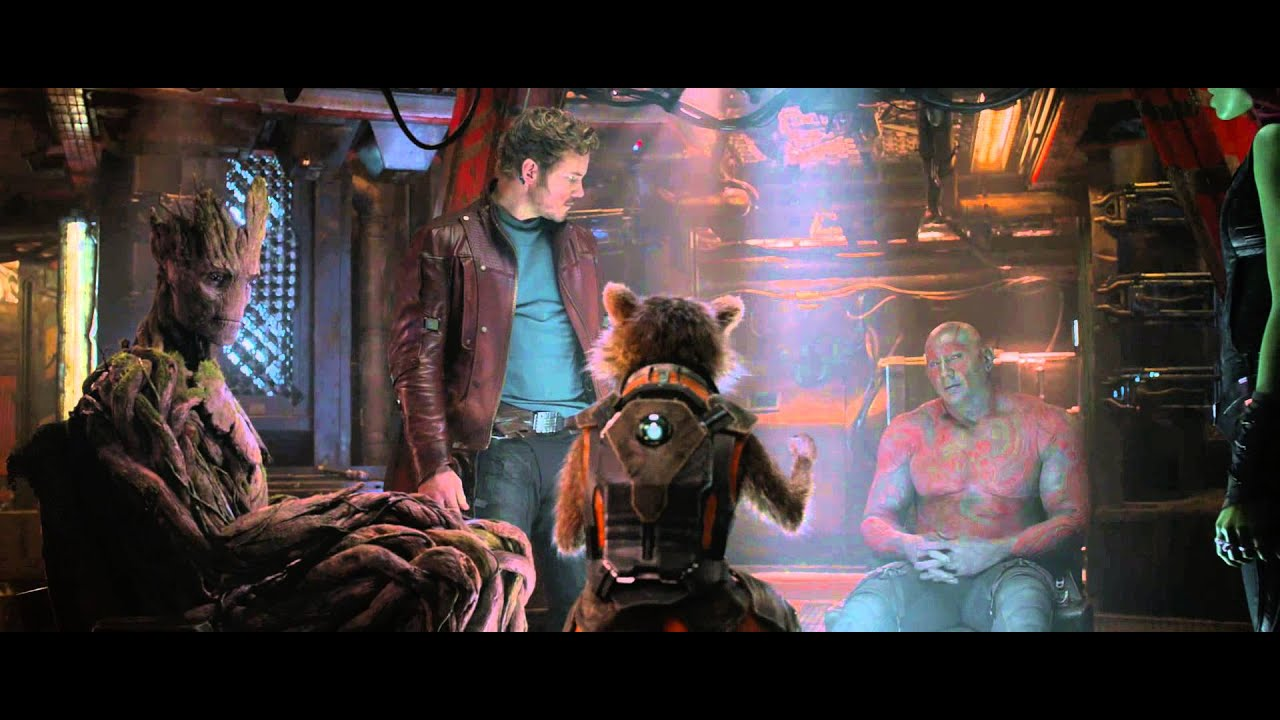 Marvel's Guardians of the Galaxy clip - 12 percent of a plan | HD
