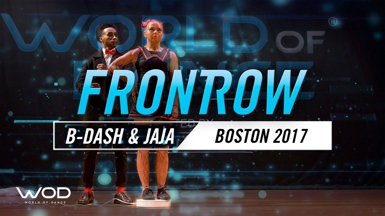 B-Dash & Jaja Vankova | FrontRow | World of Dance Boston 2017 | #WODBOS17
