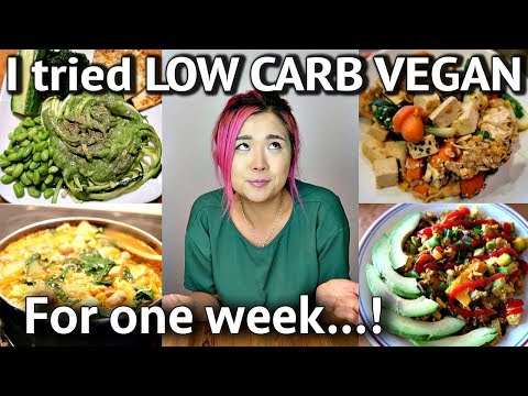 I TRIED LOW CARB VEGAN FOR A WEEK (part 1 - GROCERY HAUL!)