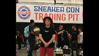 Crazy Trading/Selling at Sneaker Con Dallas, Texas July 2017