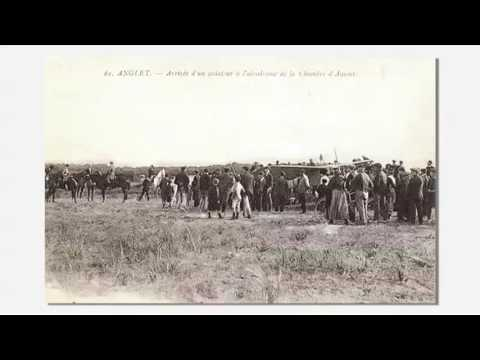 L'histoire de l'aérodrome de la Chambre d'Amour à Anglet