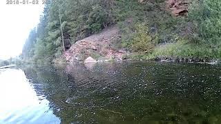 Рыбалка на реке Лена и Куленга август 2019