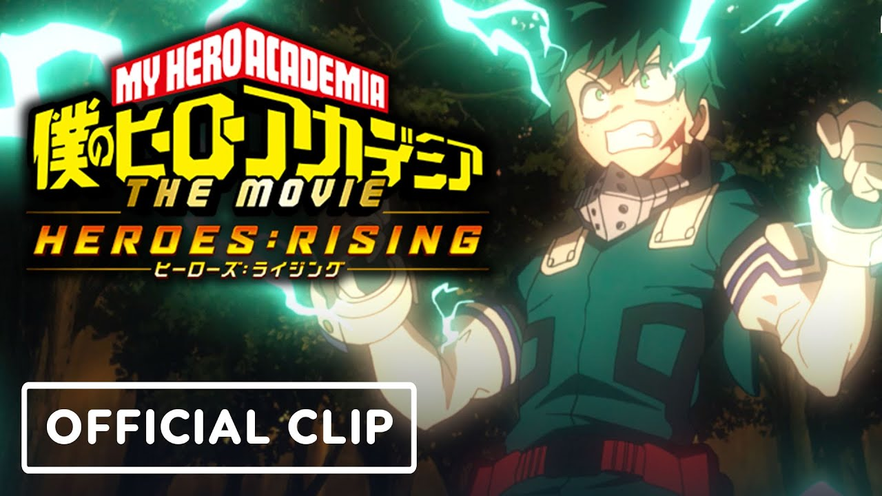 My Hero Academia Heroes Rising Exclusive Official Clip Youtube