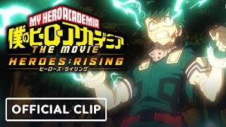 My Hero Academia: Heroes Rising - Exclusive Official Clip
