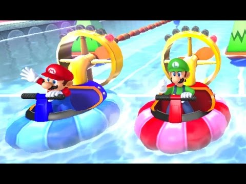 Mario Party 10 - All Free Play Minigames (2 Player)