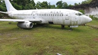 One of Exploring With Josh's most viewed videos: ABANDONED PLANE FOUND 737