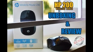 HP 200 Wireless Mouse | Unboxing & Review | Tech Delivered