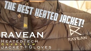 The best HEATED Jacket⎮Ravean Heated Down Jacket Overview