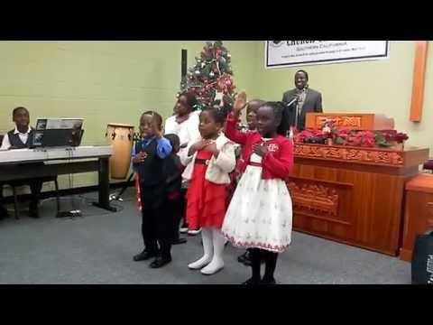 Presbyterian Church of Ghana Southern California-Children Service Christmas Performance