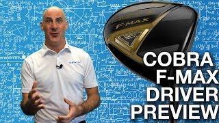 Cobra F-MAX Driver Preview