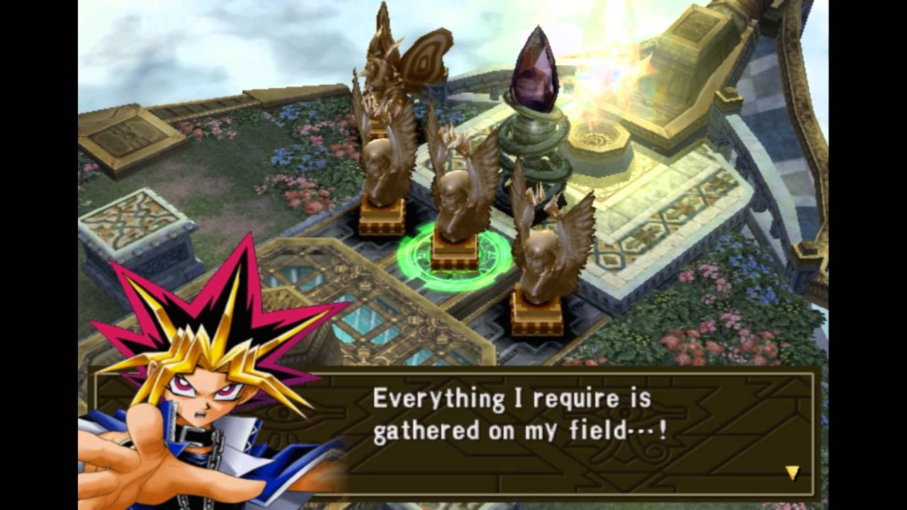 yugioh capsule monster coliseum ps2