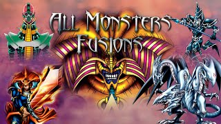 Yu-Gi-Oh - Capsule Monster Coliseum - All Monsters Fusions